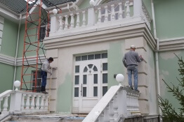 Ремонт фасадов многоквартирного дома
